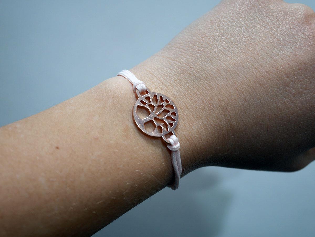 UKIYYO TREE OF LIFE ROSEGOLD PINK 1