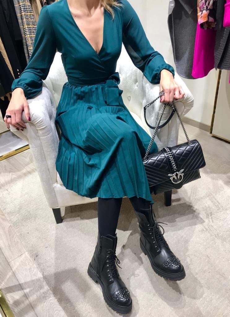 Oufit tedna - elegantna obleka - sisley