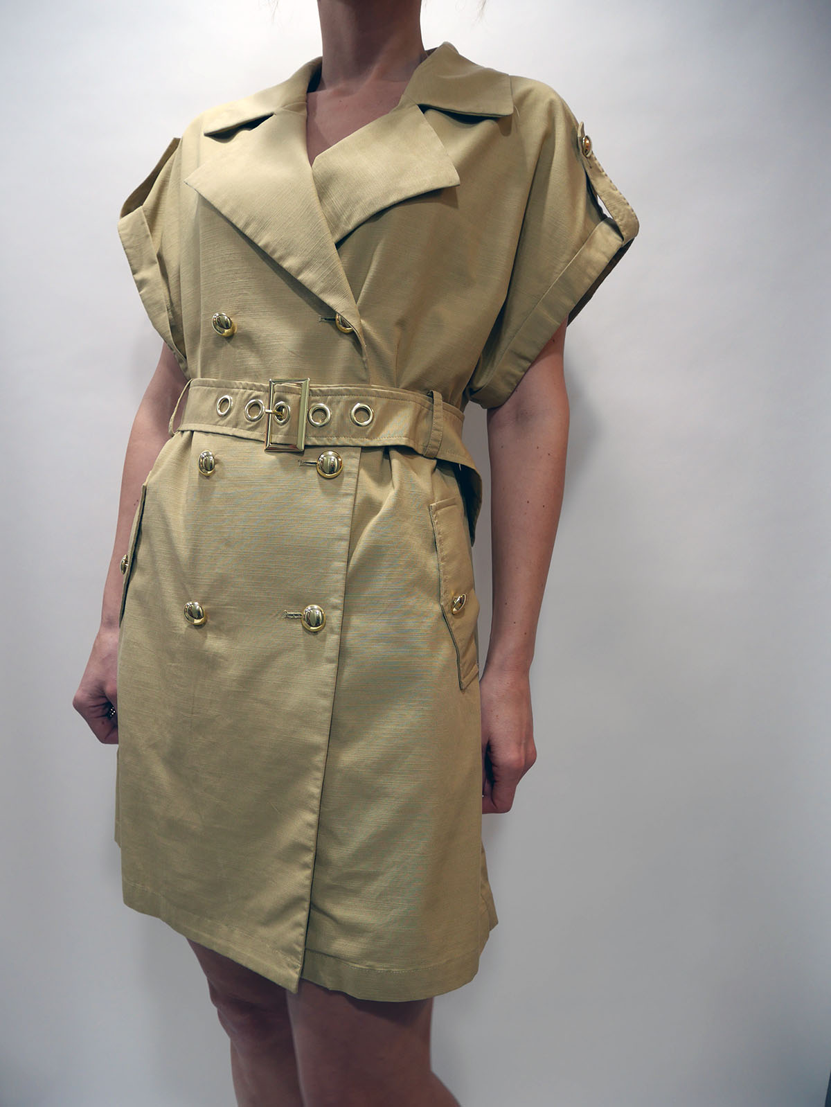 2EY6536N6 TRENCH COAT DUST BOWL 1