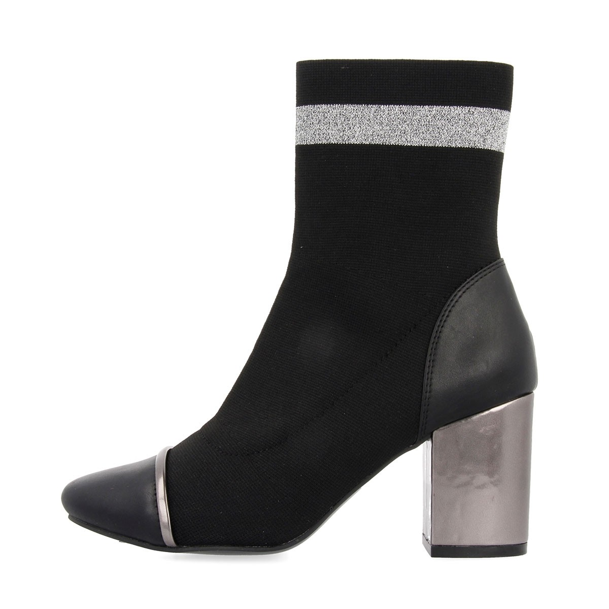 46423 Black-Silver BOOTS 2