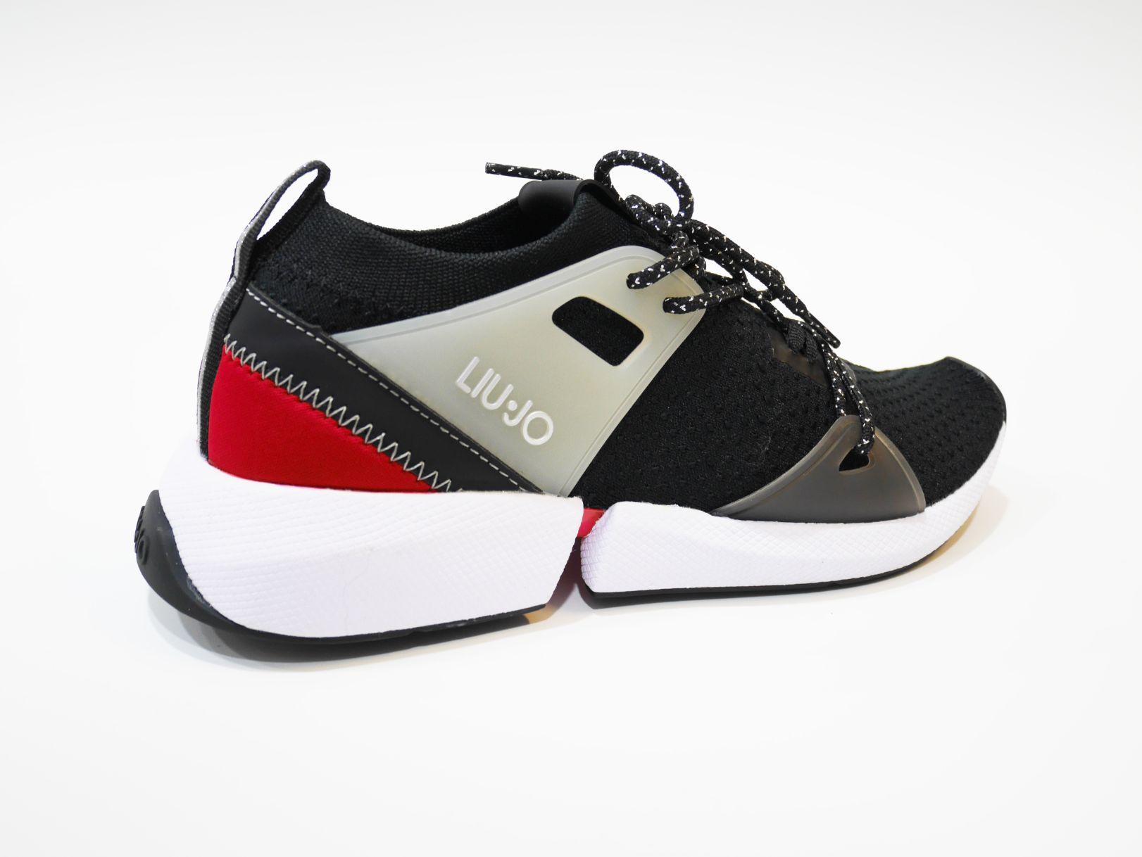 B69045 TX022 YULIA 01 SNEAKER BLACKRED 4