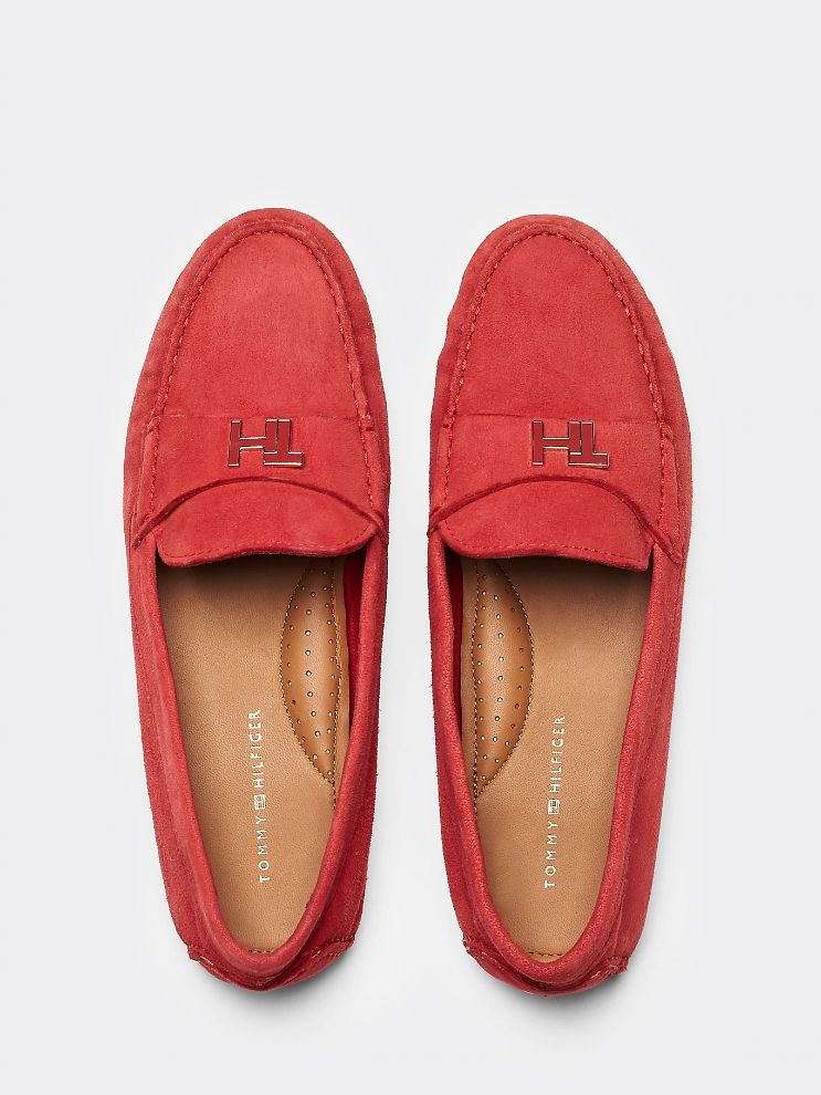 FW0FW04767 XLG MOCASSIN PRIMARY RED 4