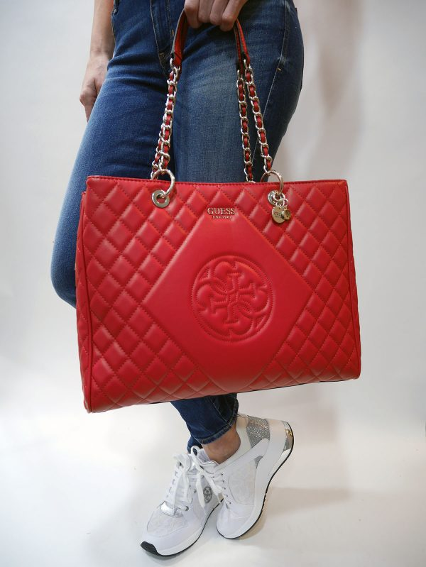 HWVG7175240 SWEET CANDY LARGE CARRYALL RED 1