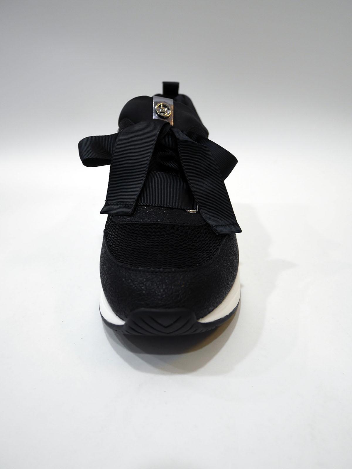 KARLIE 06 – LACE UP BLACK 2