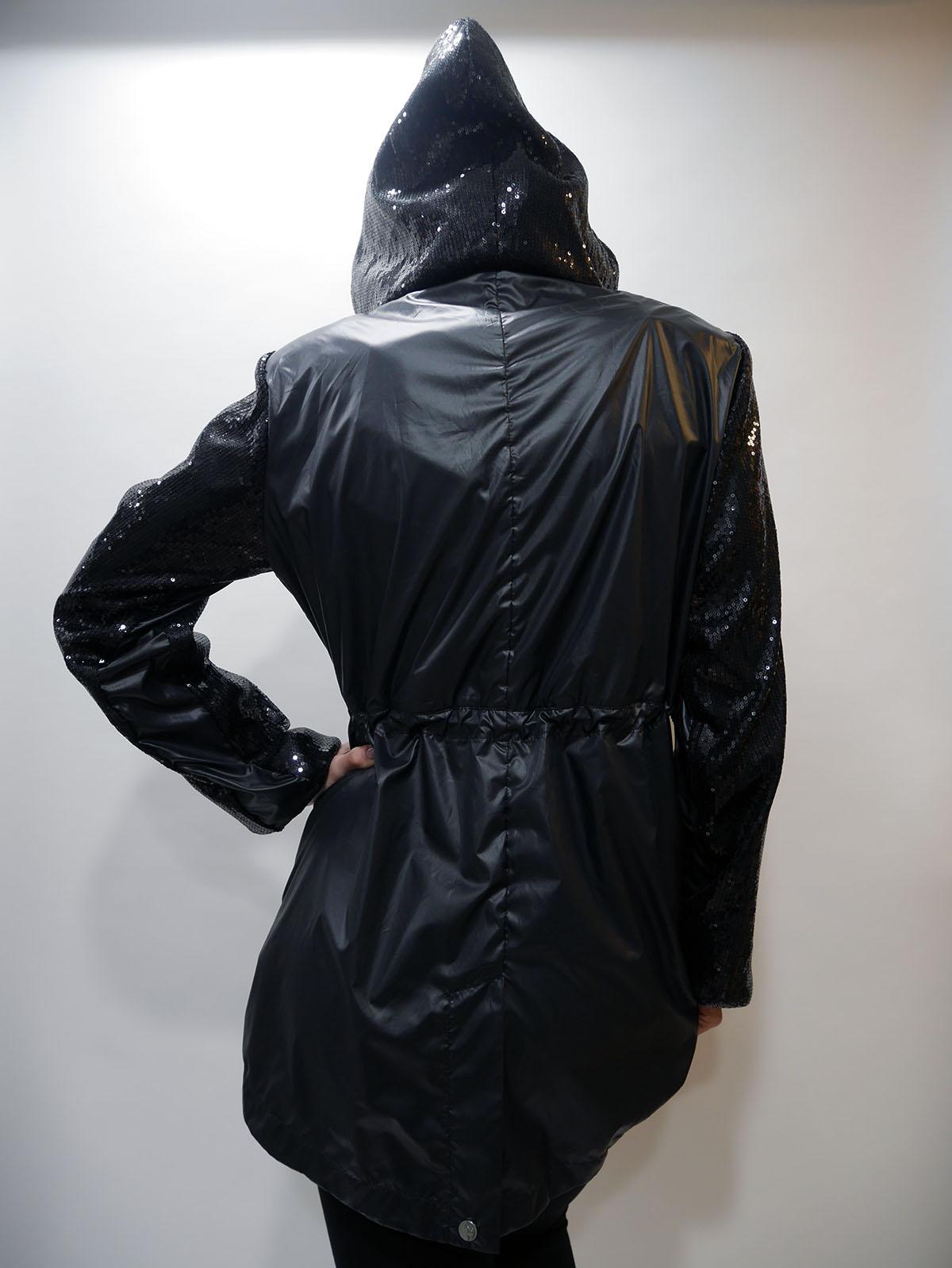 T19084 T5173 SHORT COAT Black 3