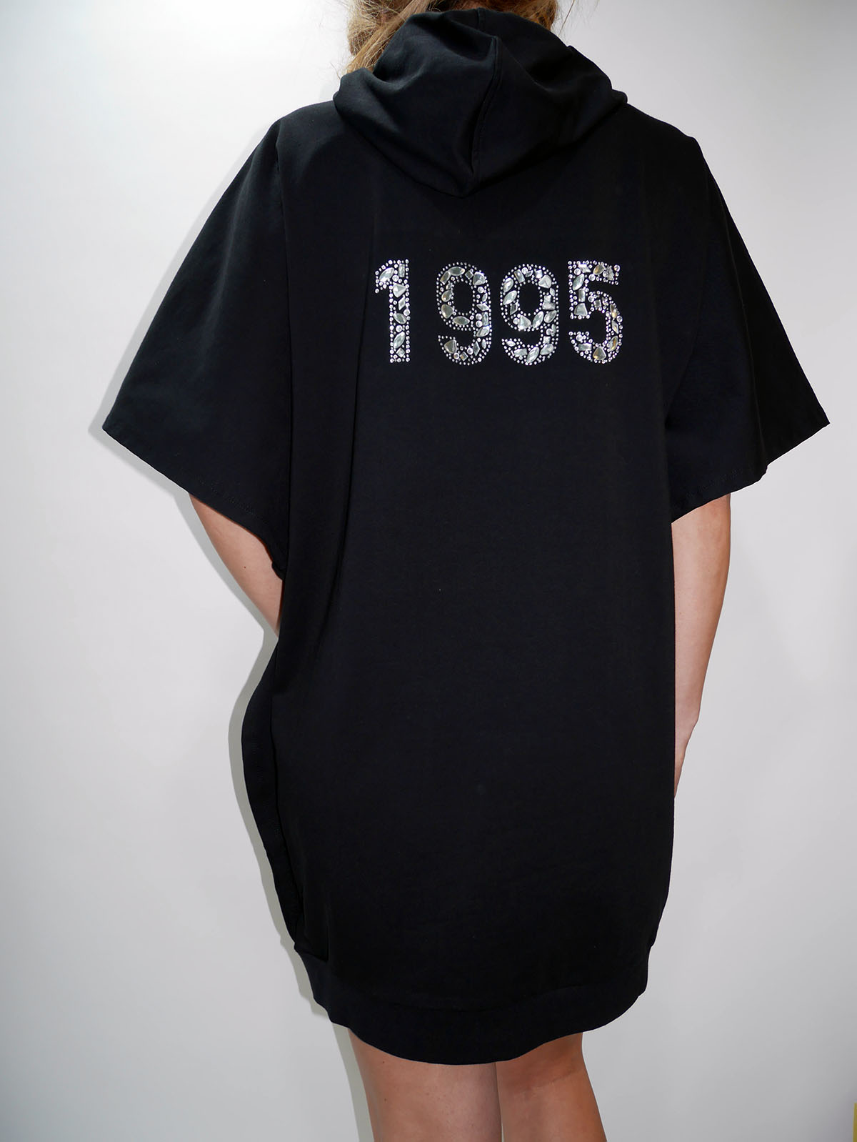 T19133 F0766 SWEATSHIRT Black 3