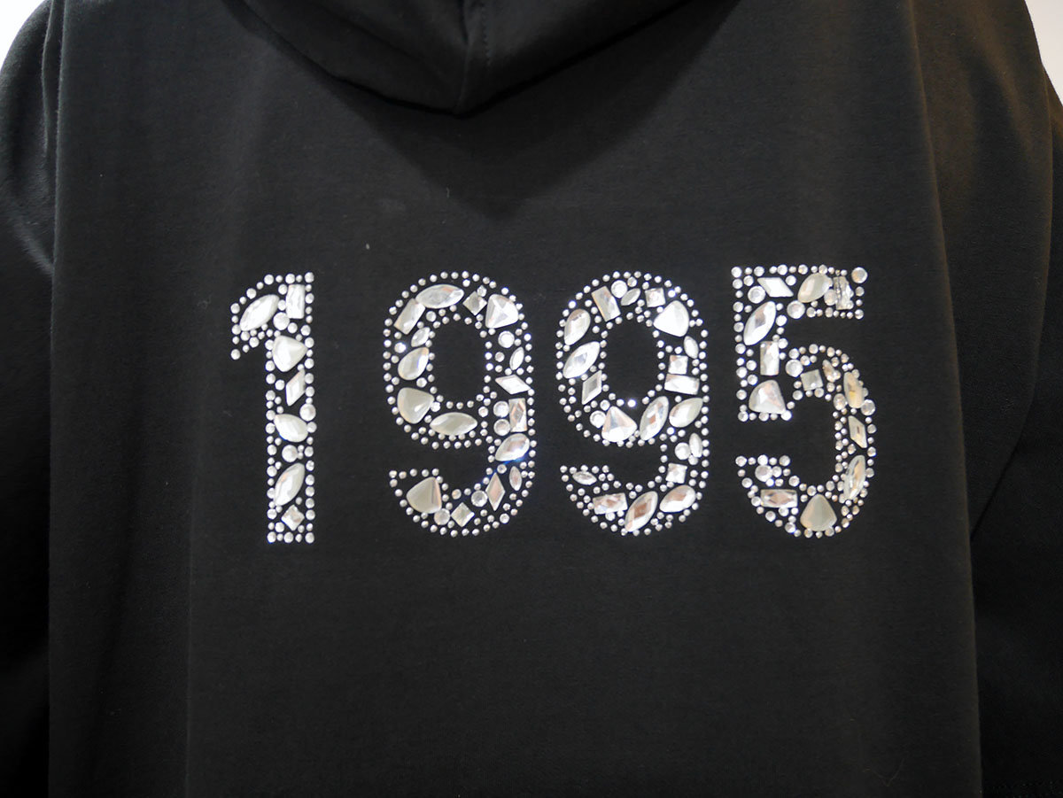 T19133 F0766 SWEATSHIRT Black 4