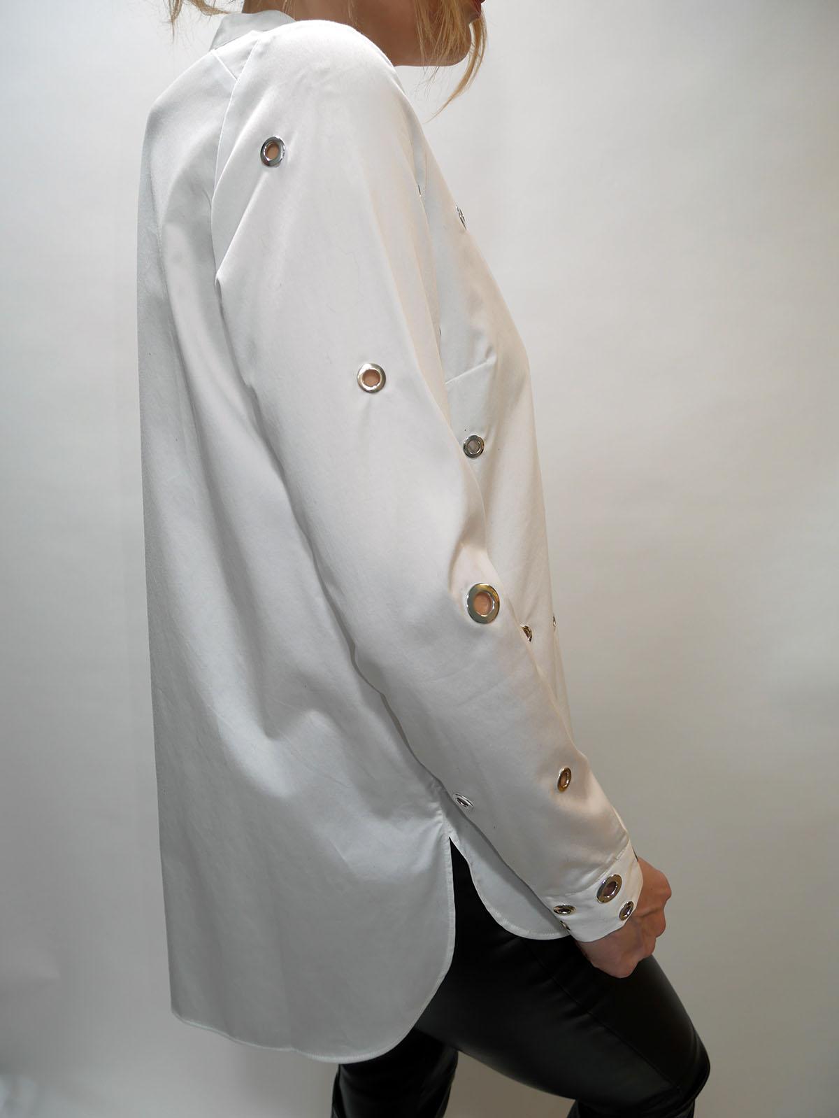 W91H48WAF10 LS PORZIA SHIRT WHITE 3