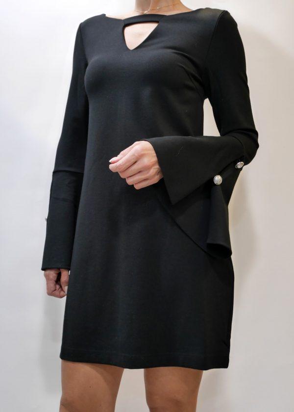 W94K62K8RN0-JBLK AURORA DRESS 1