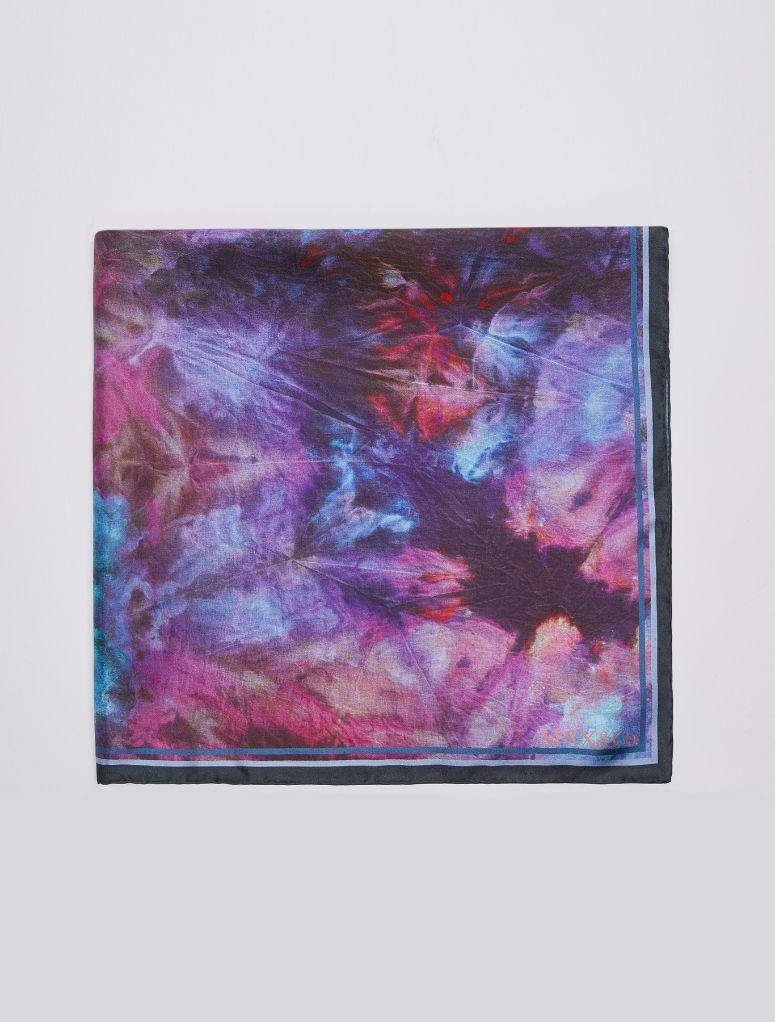 ADDA Stole-Square scarf purple 2