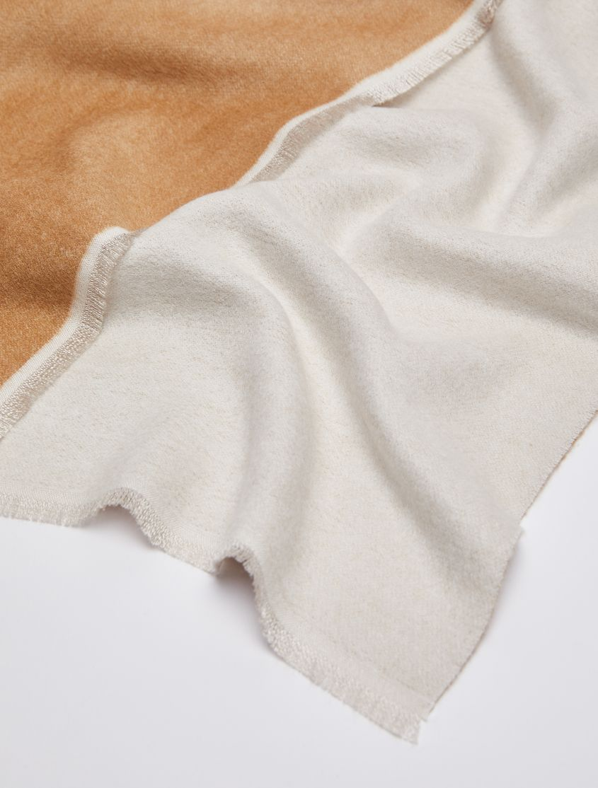 ADELAIDE Stole-Square scarf ivory 2