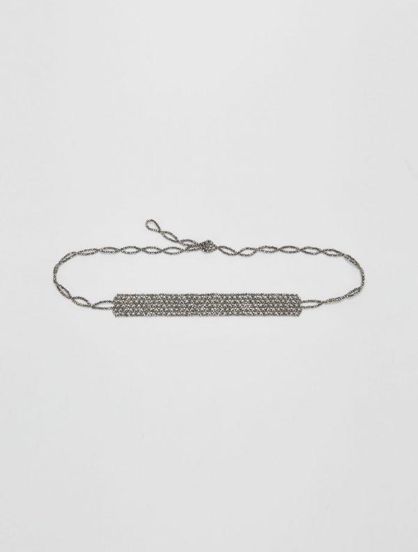 AMICIZIA Belt-suspenders anthracite 1
