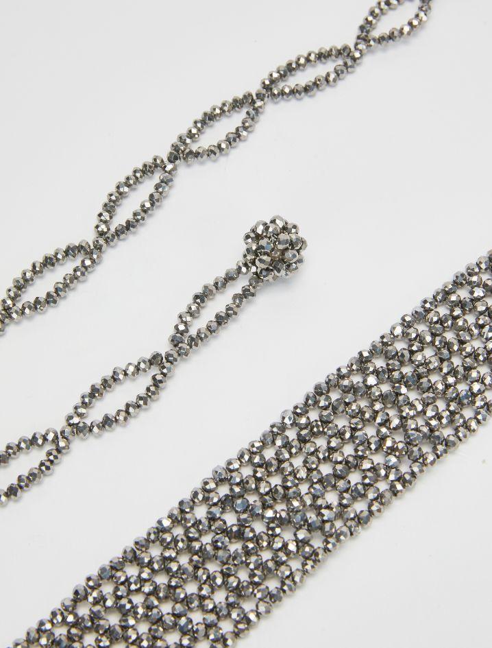 AMICIZIA Belt-suspenders anthracite 2