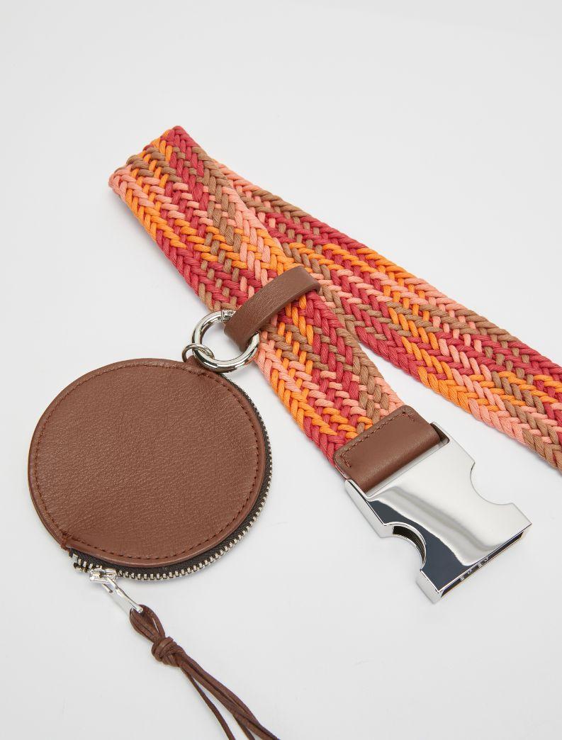 ANFIBIO Belt-suspenders brown 2