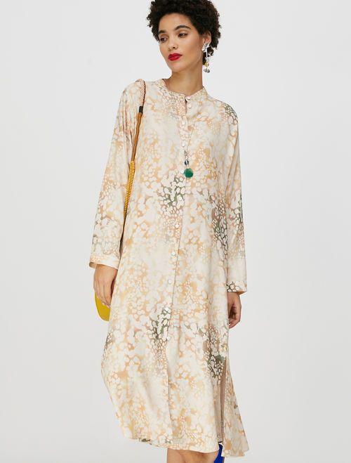 CAUSA Dress powder pink pattern 1