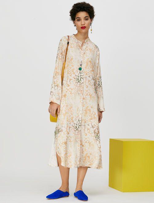CAUSA Dress powder pink pattern 2