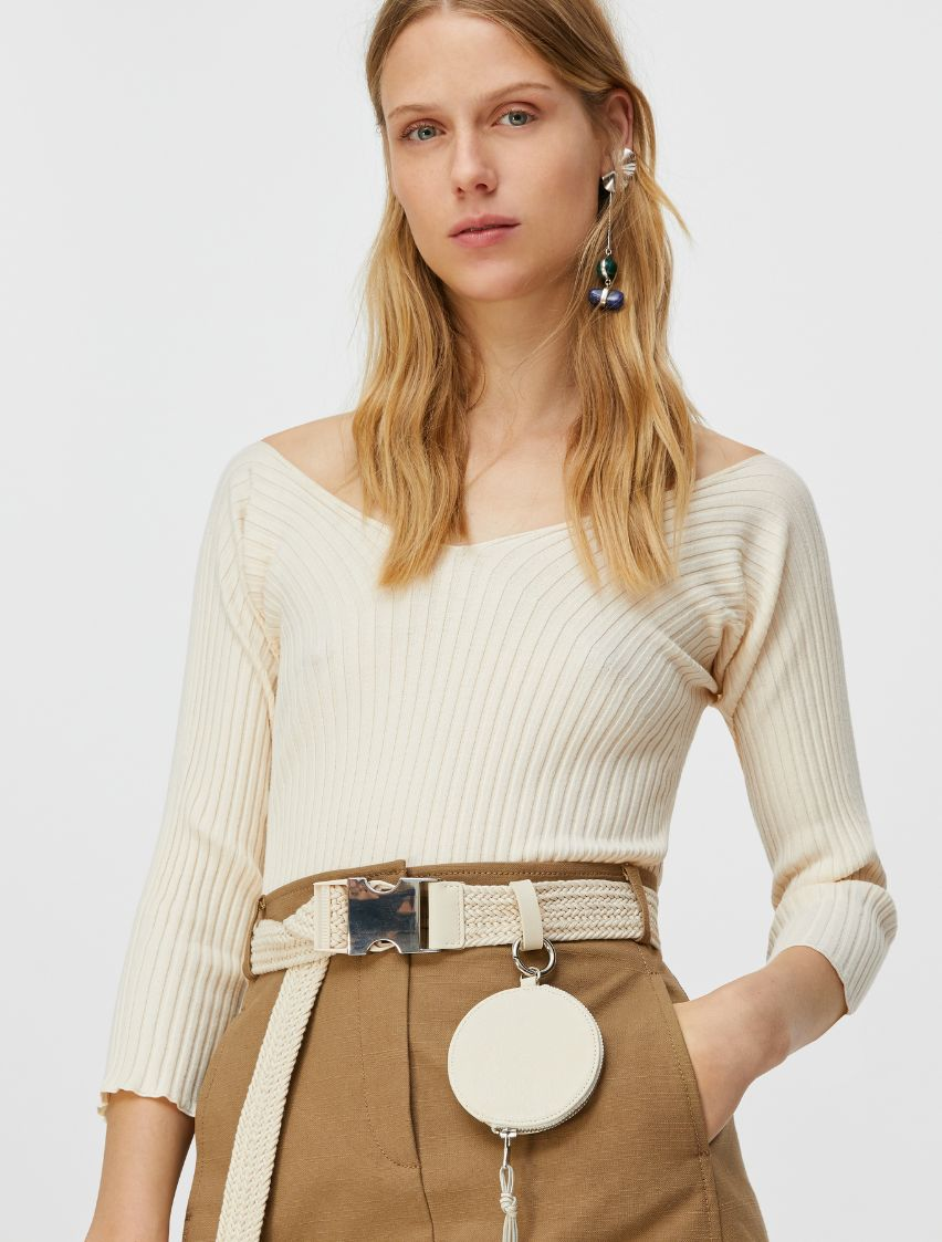 CERVINO Sweater-Tank-Top ivory 1