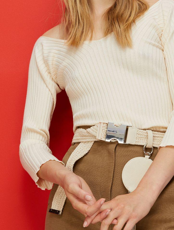 CERVINO Sweater-Tank-Top ivory 3
