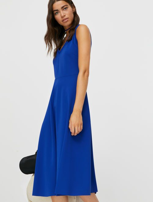 CULTURA Jerseydress china blue 2