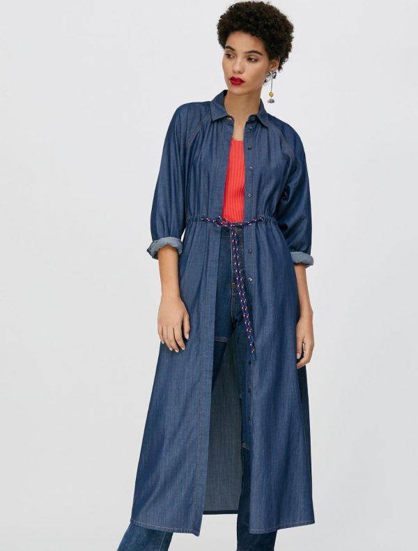 DIFESA Dress midnight blue 1