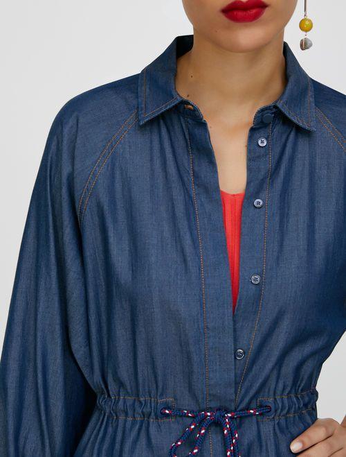 DIFESA Dress midnight blue 4