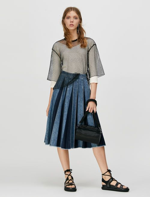 DIRECTOR Skirt light blue 1