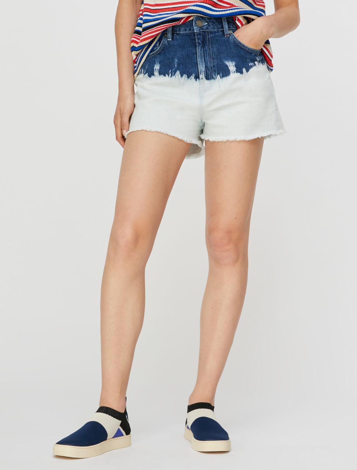 DORELLA Short trouser light blue pattern 1