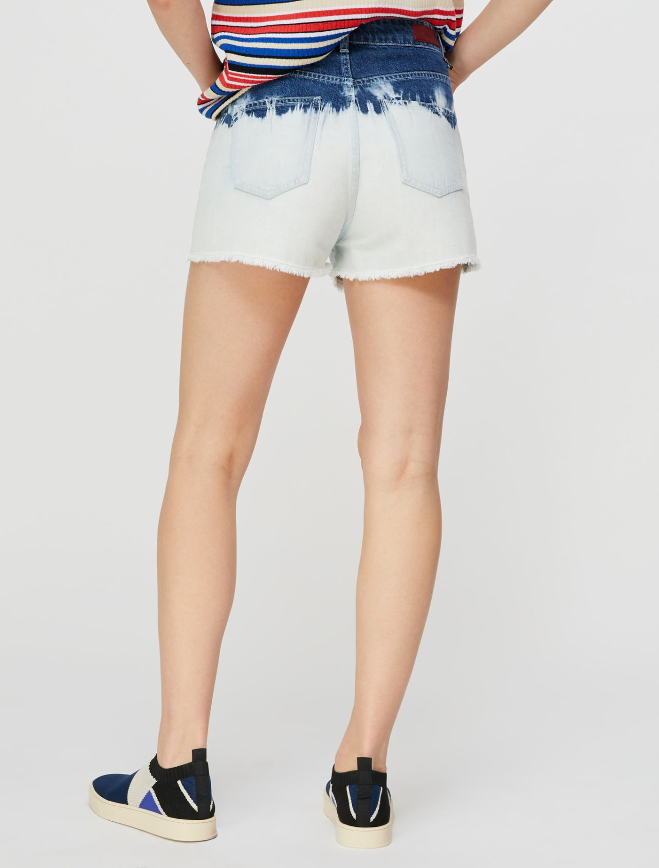 DORELLA Short trouser light blue pattern 2
