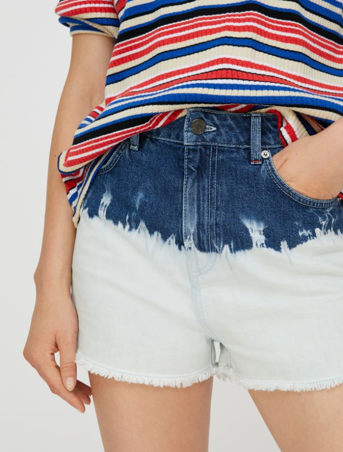 DORELLA Short trouser light blue pattern 4