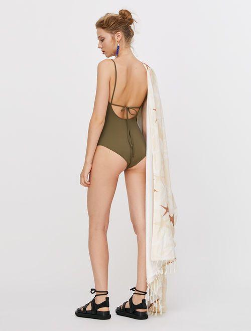 MARIO Sun-Shower Towel white 2