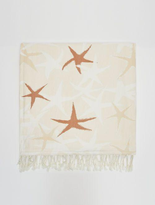 MARIO Sun-Shower Towel white 3
