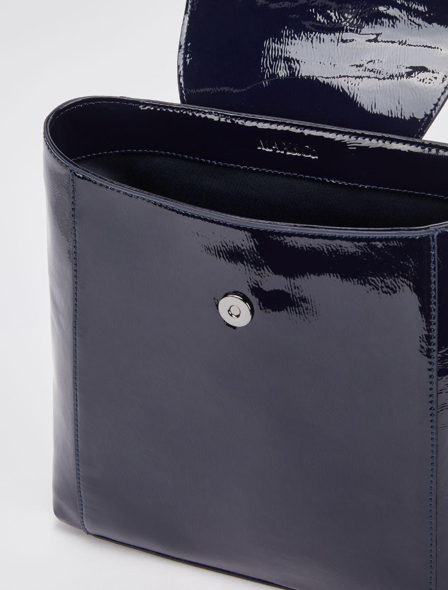 PAGURO Handbag navy blue 2