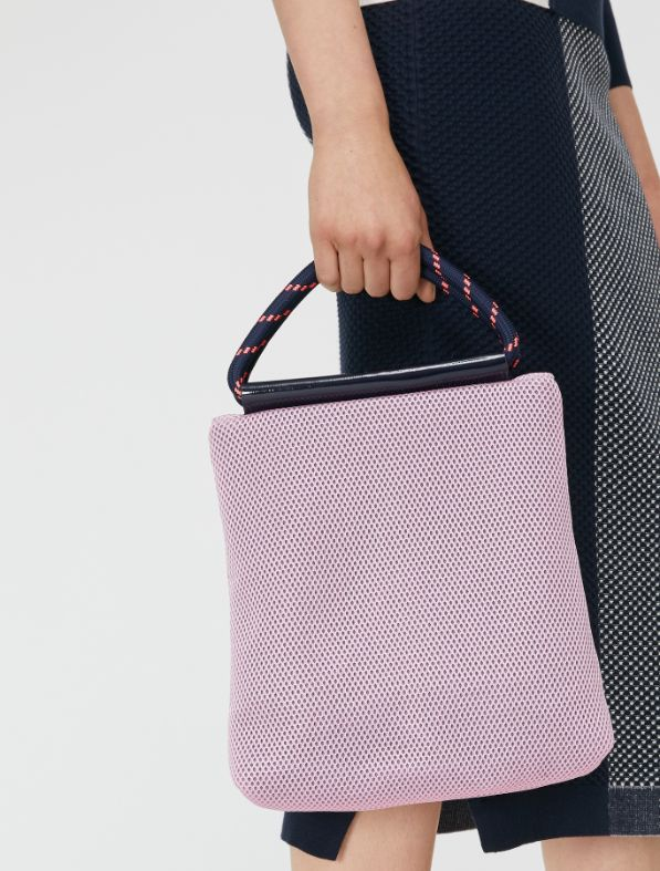 PAGURO Handbag navy blue 5