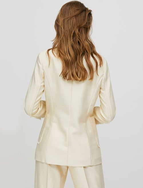 PAVULLO Jacket ivory 4