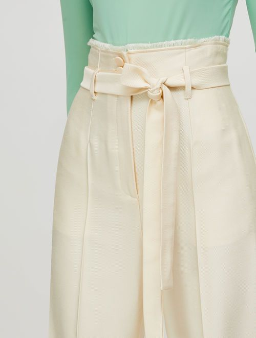 PAZIENTE Long trouser ivory 2
