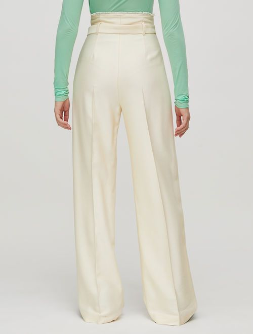 PAZIENTE Long trouser ivory 3