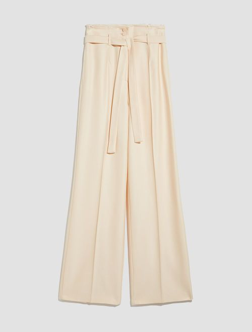 PAZIENTE Long trouser ivory 5