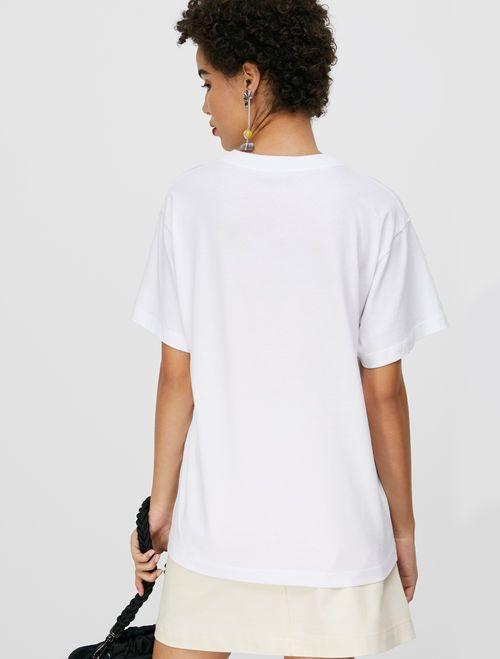 TEE T-shirt green pattern 3