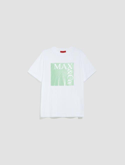 TEE T-shirt green pattern 5
