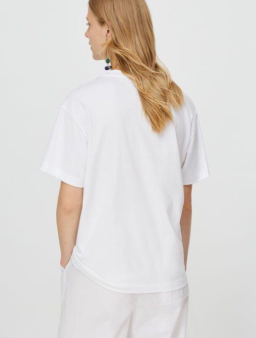 TEE T-shirt purple pattern 4