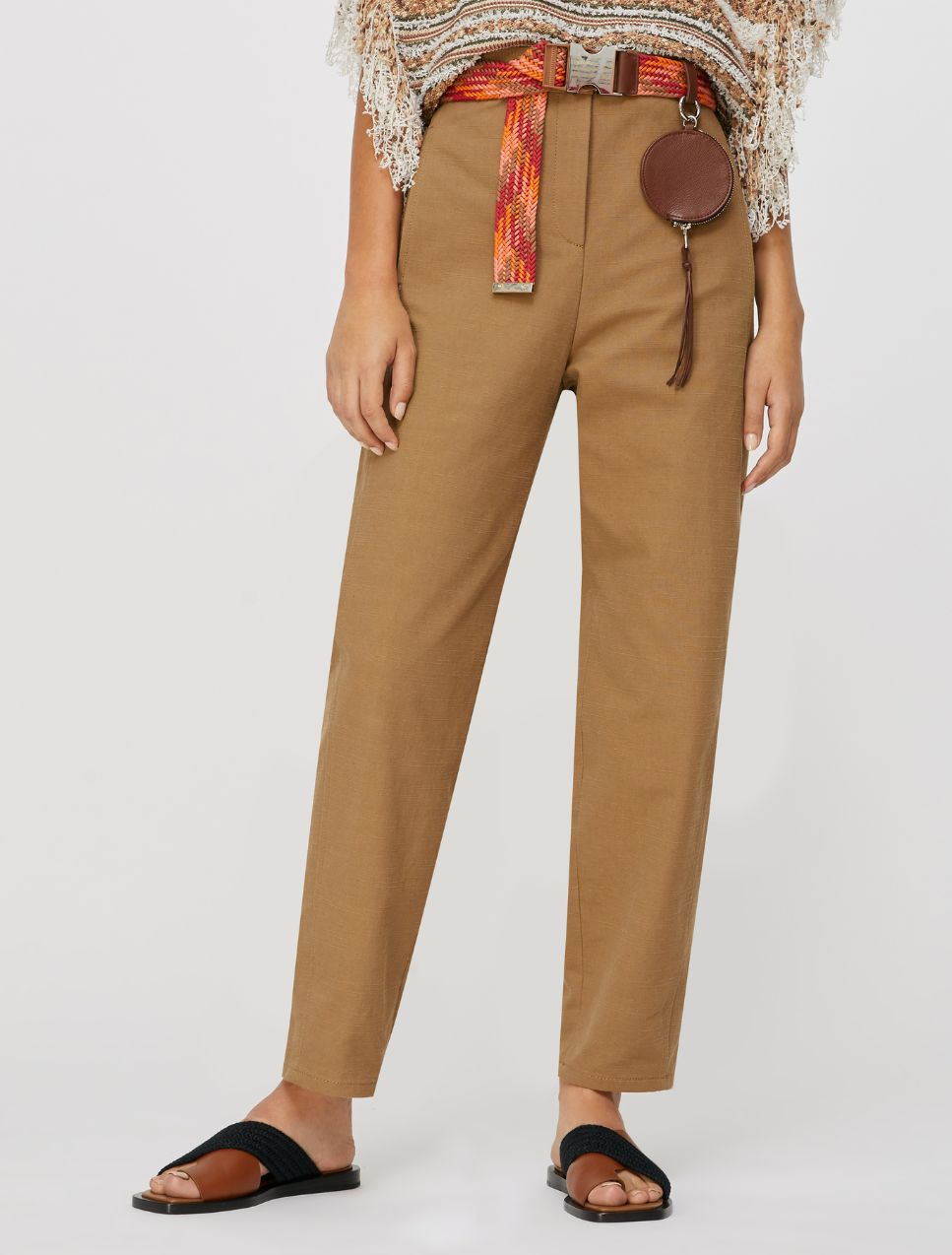CAVO Long trouser brown 1
