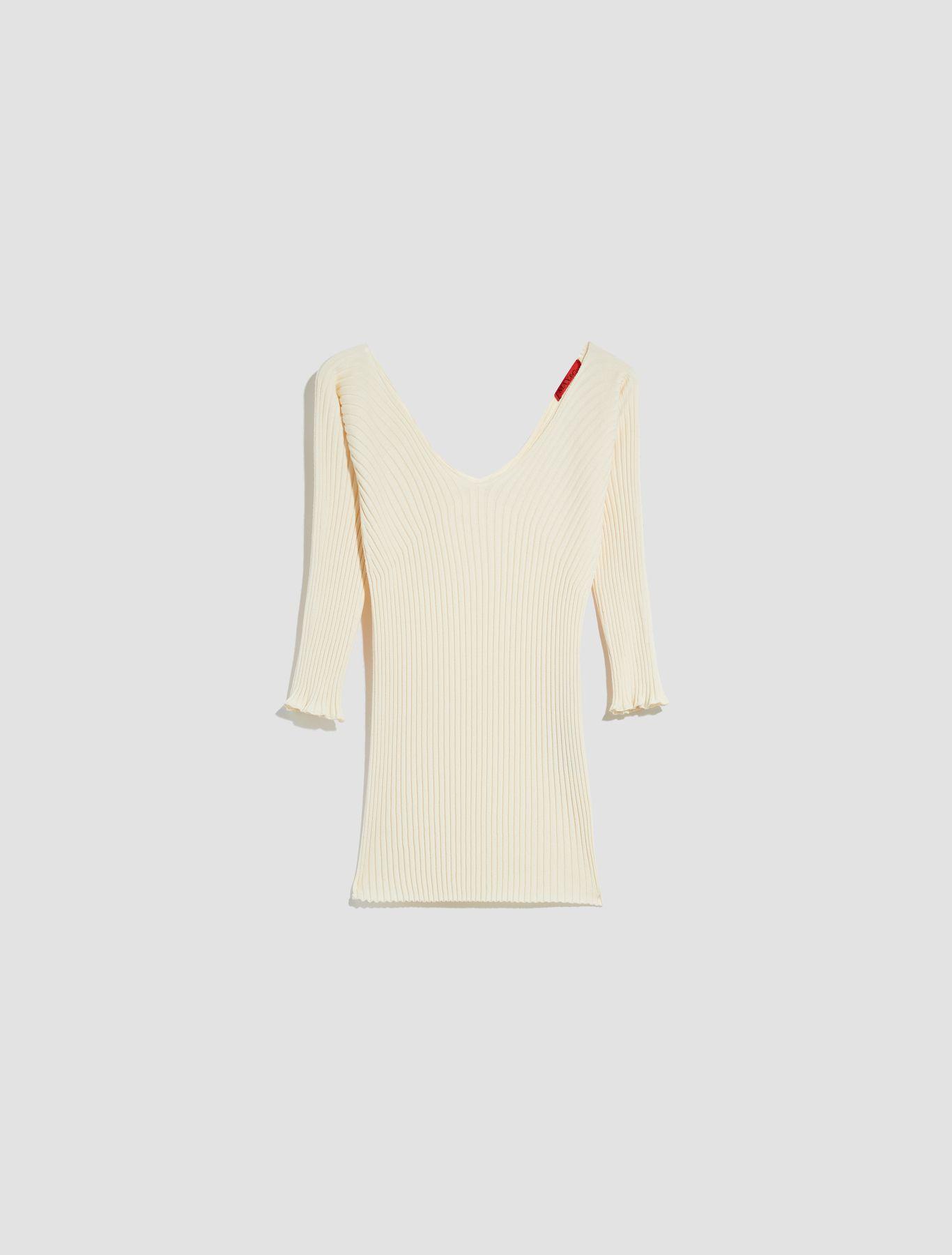 CERVINO Sweater-Tank-Top ivory 5