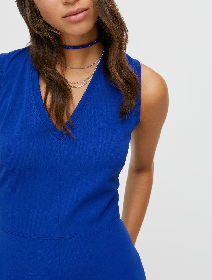 CULTURA Jerseydress china blue 4