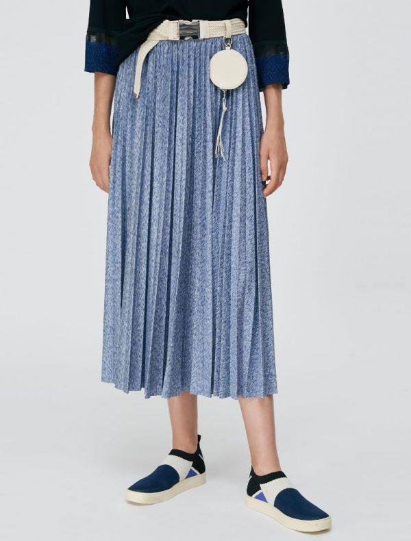 DAMIANO Jersey Skirt china blue 1