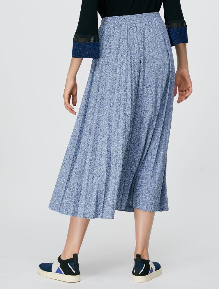 DAMIANO Jersey Skirt china blue 2