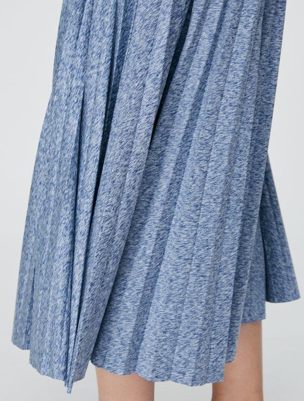 DAMIANO Jersey Skirt china blue 3