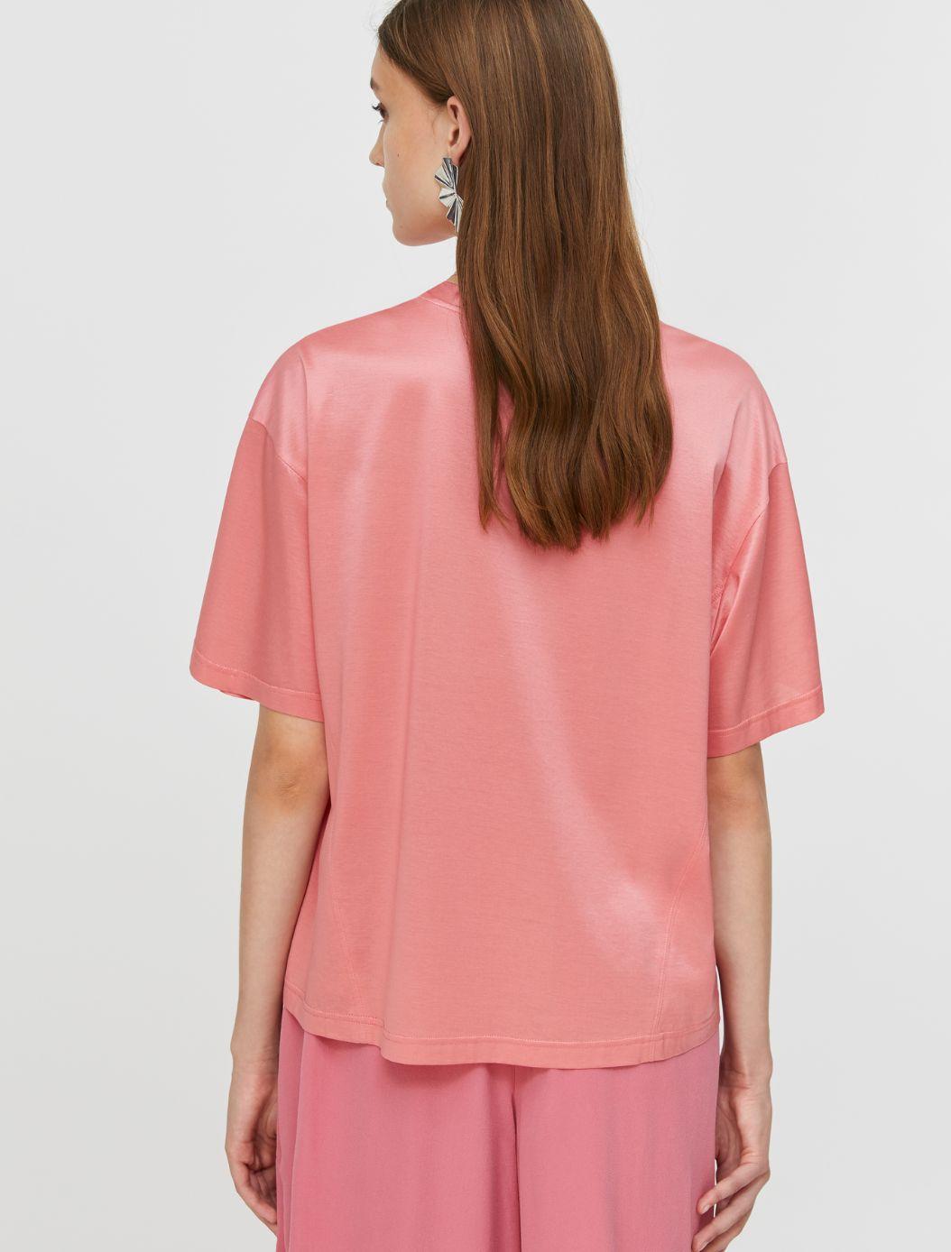 DARIA T-shirt coral 2