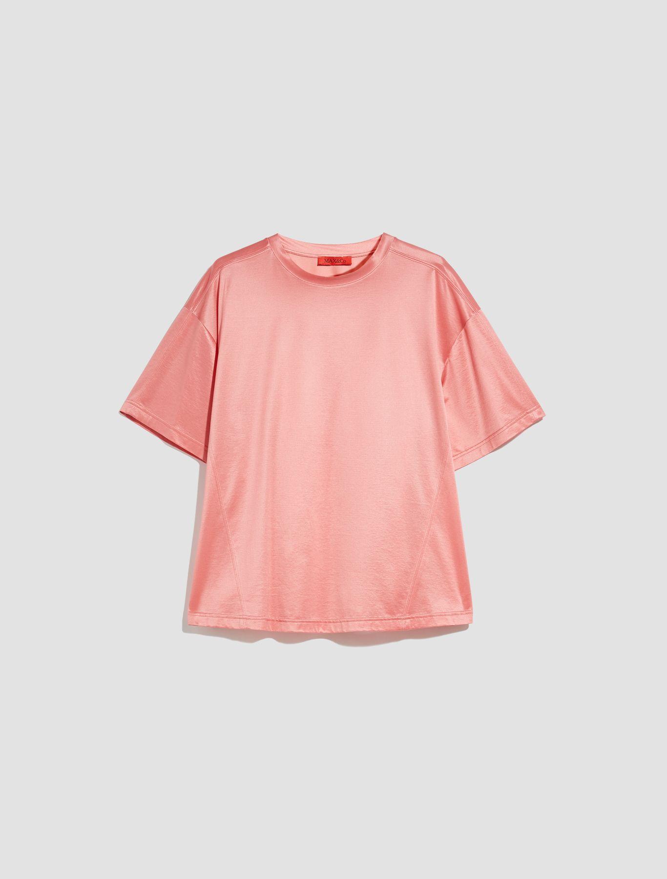 DARIA T-shirt coral 5