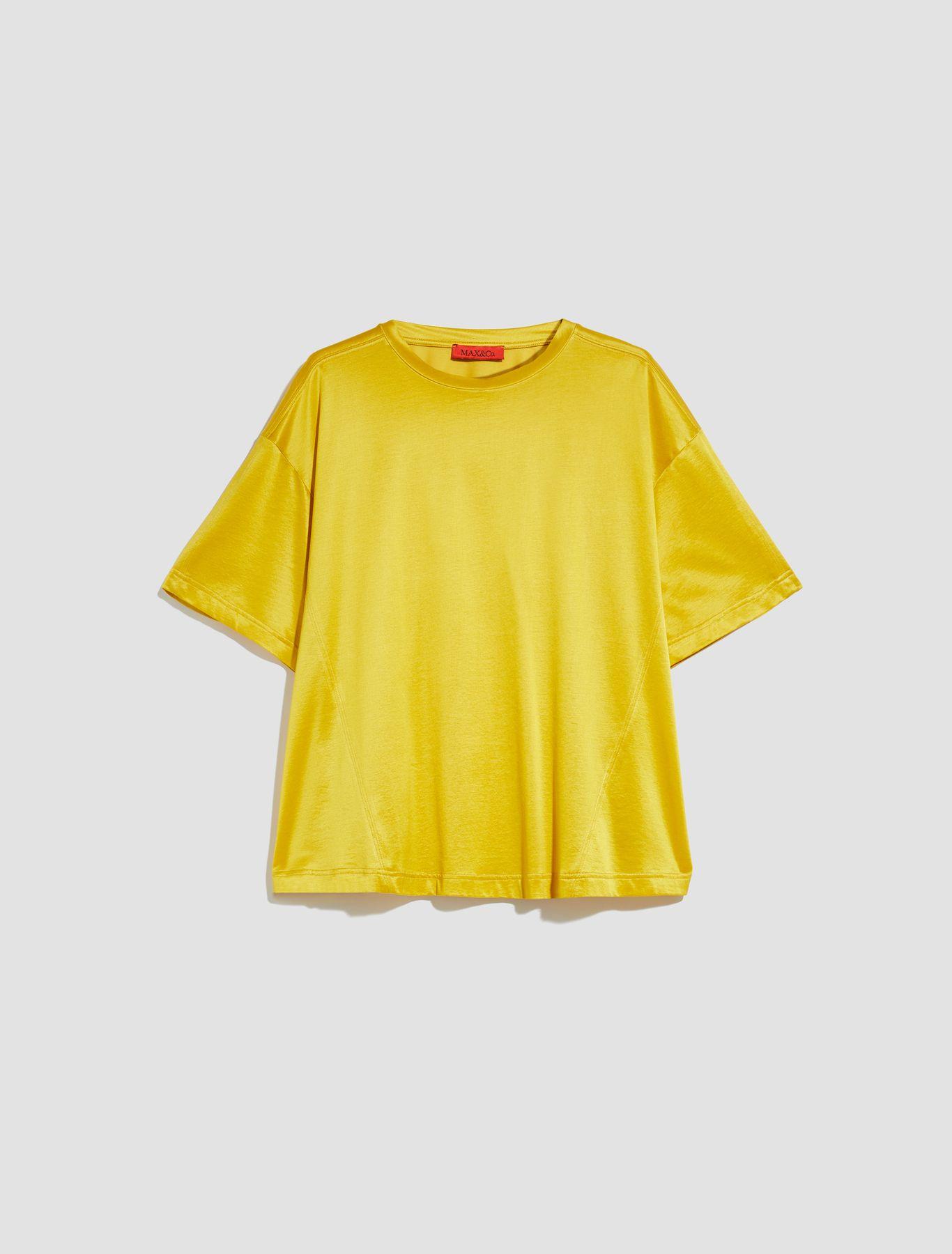 DARIA T-shirt mustard 5