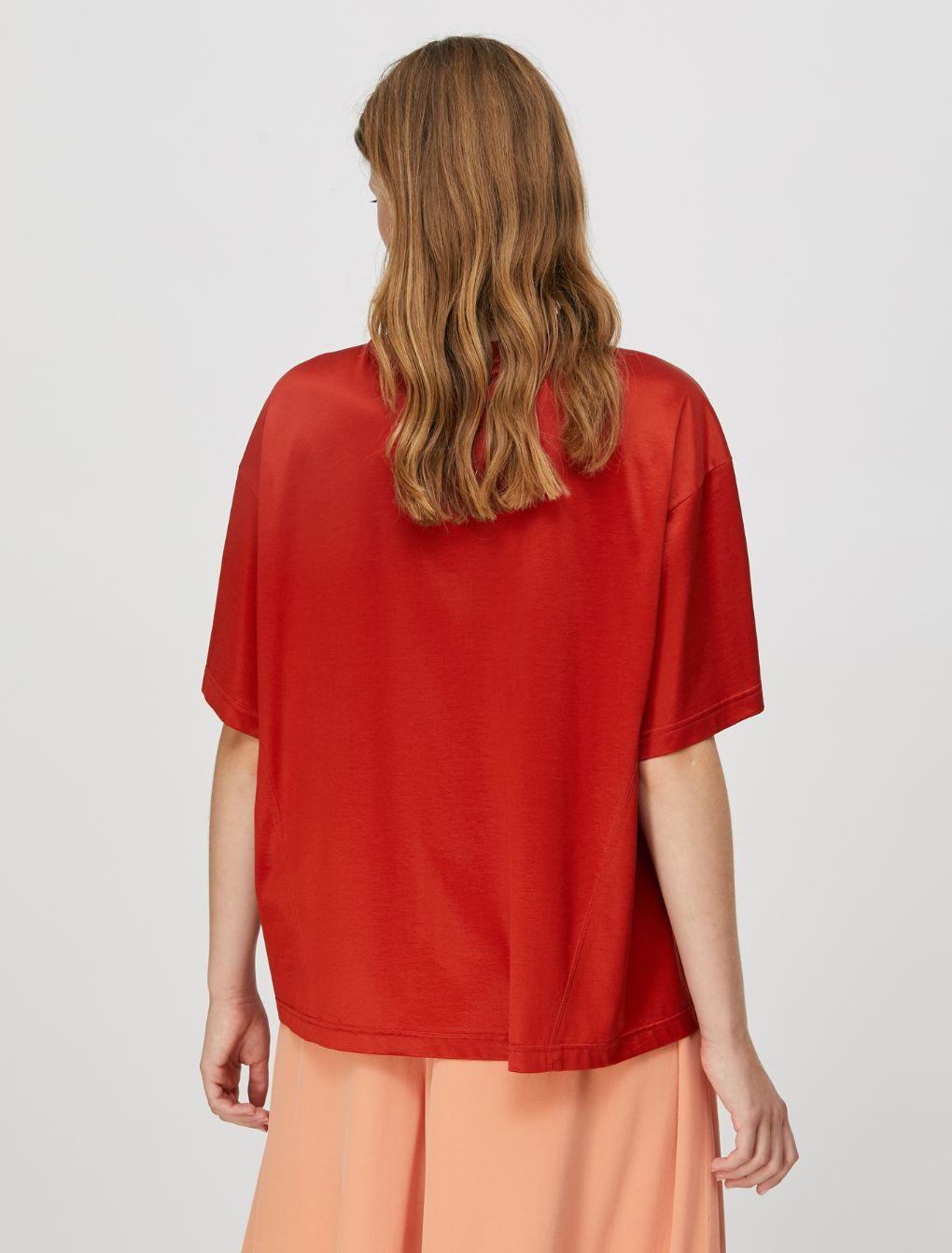 DARIA T-shirt terracotta 2